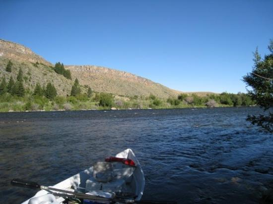 Kent and i in big sky picture of bozeman montana for Bozeman mt fly fishing