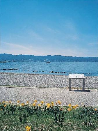 Kamisuwa Onsen: 諏訪湖半