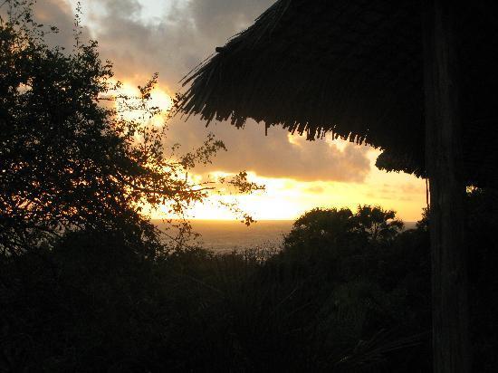 Ras Kutani: sunrise from suite nr. 2