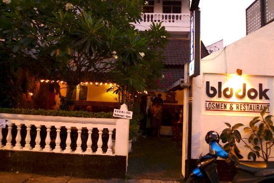 Bladok Losmen: Entrée de l'hotel