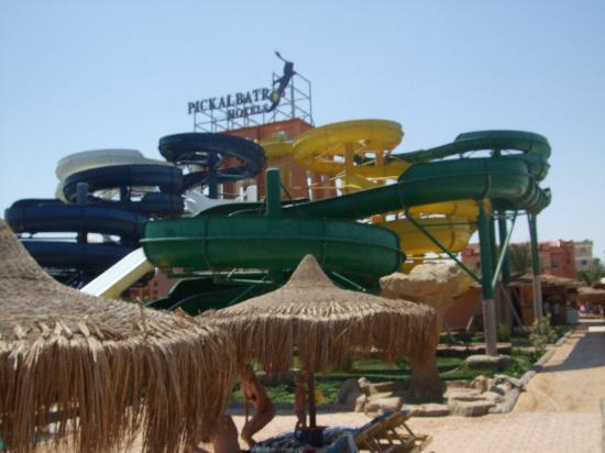 Albatros Resort Hotel Hurghada : slides