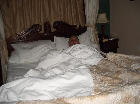Glenalmond House: Couldn't get him out of bed !!