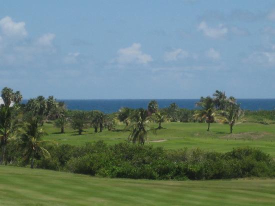 Royal St. Kitts Golf Club: St. Kitts Golf Atlantic Ocean