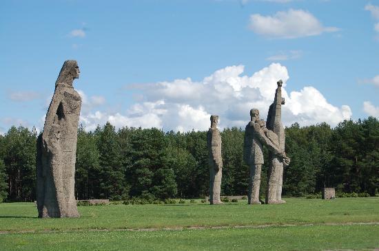 Salaspils Memorial Ensemble: Salaspils Concentration Camp