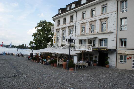 Landsgemeinde square, Hotel Löwen - Picture of Zug, Canton of Zug ...