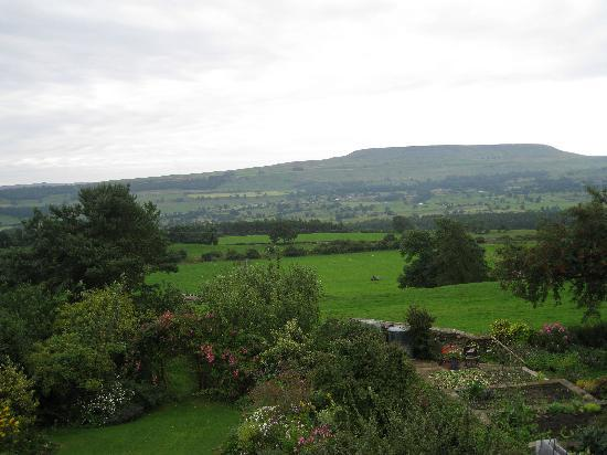 Preston-under-Scar, UK: looking South from room