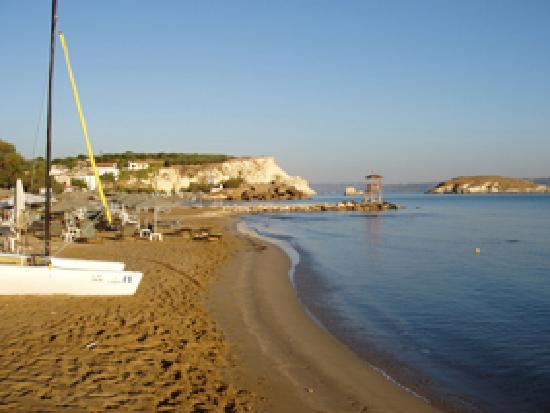Almyrida Beach Hotel: Main Beach of Almyrida