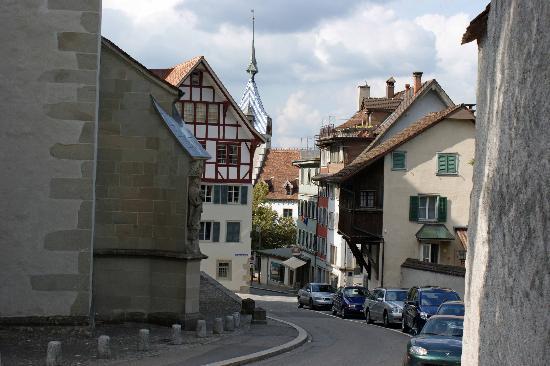 Zug Neustadt (newer part of old town) - Bild von Zug, Kanton ...