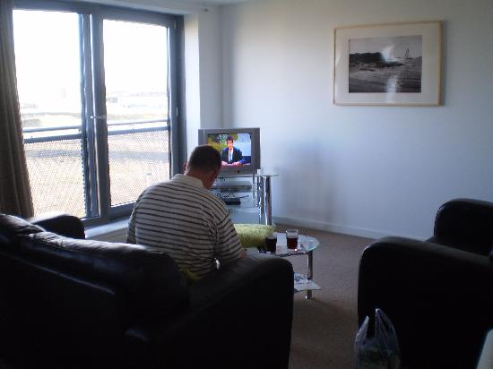 Ocean Apartments: lounge