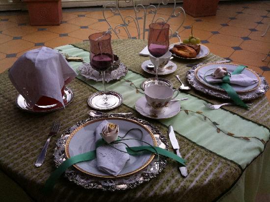 Mango, Italia: prima colazione