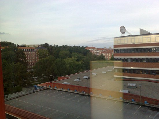 Scandic Alvik: Window view