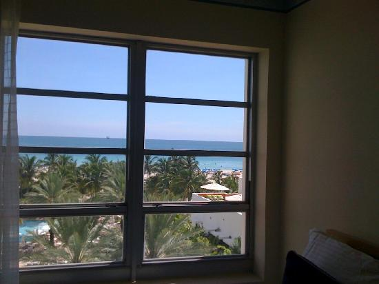 Hotel Room Window : Window room picture of loews miami beach hotel