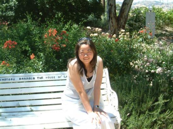 Lyndoch, Australien: chateu barossa rose garden