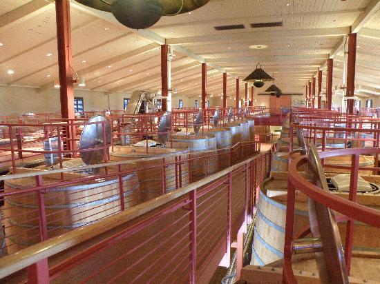 Robert Mondavi Winery: Fermentation Room