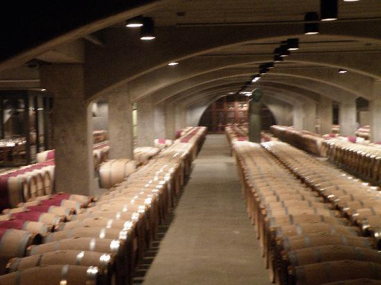 Robert Mondavi Winery: Barrel Storage Room