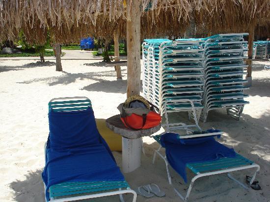 Hyatt Regency Aruba Resort and Casino: Palapa for rent