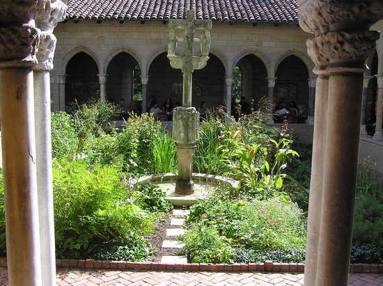 The Met Cloisters: One of the garden centers...