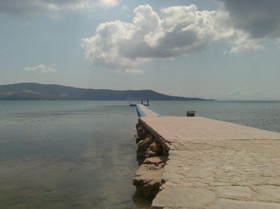 Holiday Resort Hotel: the jetty