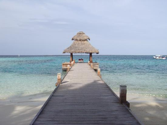 Baros Maldives: Arrival jetty