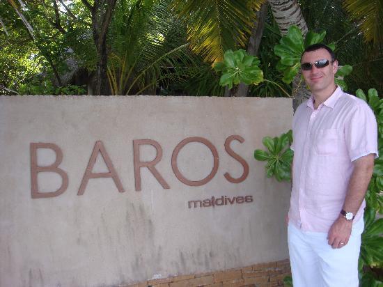 Baros Maldives: Baros sign
