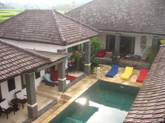 Balam Bali Villa: Villa from above