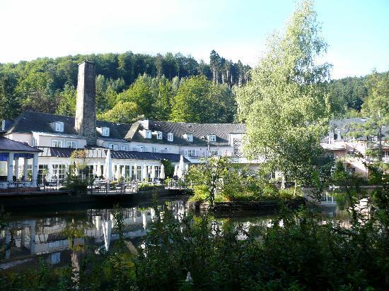 Eisenschmitt, Tyskland: Vue arrière de l'hotel
