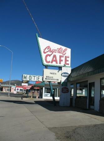 The Old Crystal Cafe and No-tell Motel in Raton, New Mexico