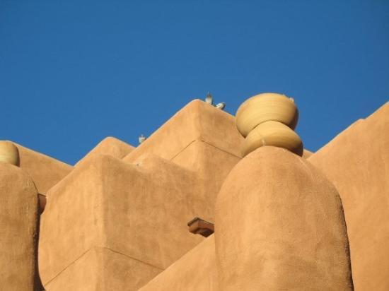 """Inn and Spa at Loretto: My attempt at """"cool photography"""" of the Inn at Loretto in Santa Fe, New Mexico"""