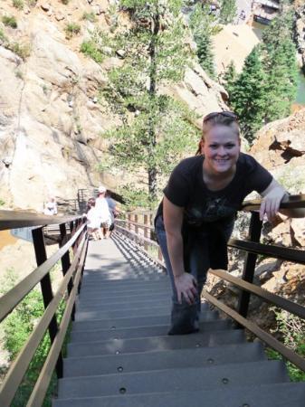Seven Falls: second part of 7 falls climb