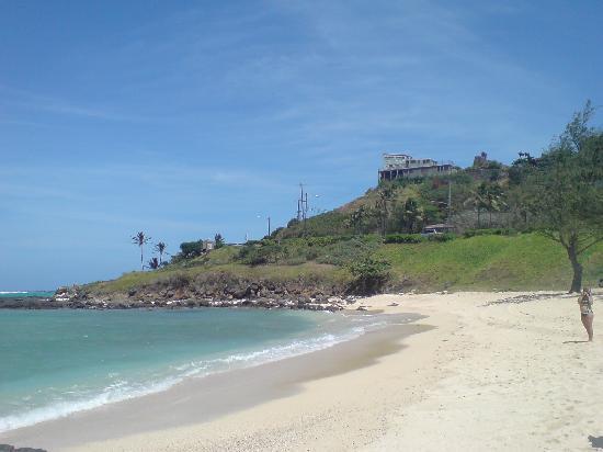 kailua beachから lanikai beachはこの向うです
