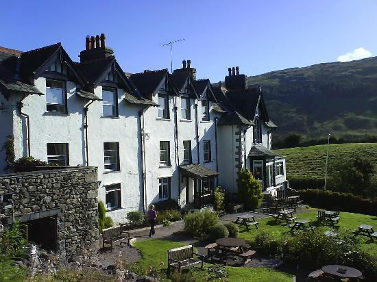 Troutbeck, UK: view of hotel