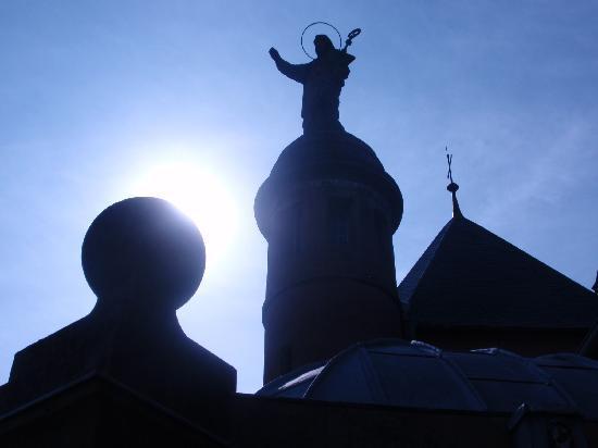 Mont Sainte Odile Convent: sainte odile