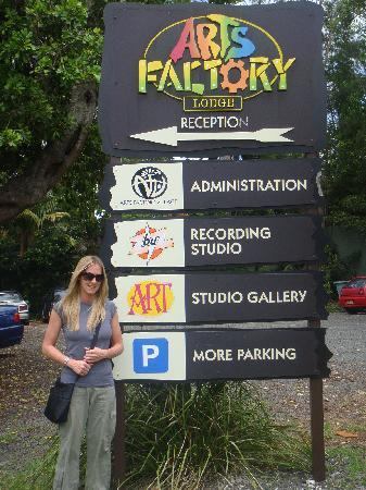 The Arts Factory Backpackers Lodge: Arts Factory!