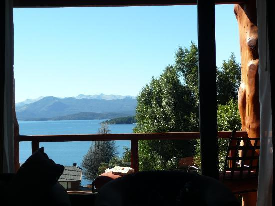 Nido del Condor Hotel & Spa: Lake view from room