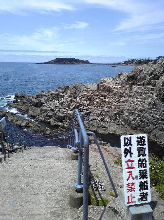 Sakai, Japan: 遊覧船入口。