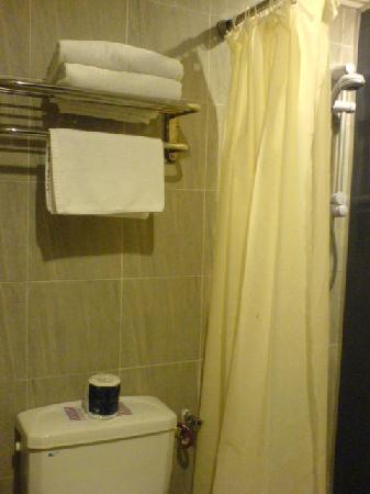 City Park Hotel: nice toilet