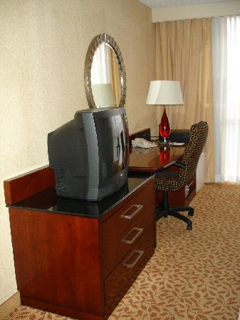 El Paso Marriott: work area