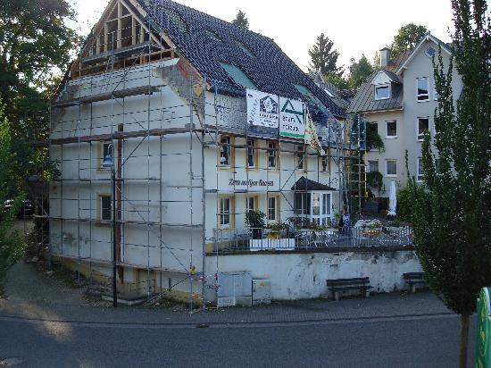 Blesius Garten : restaurant next door, under renovation outside, but wonderful experience