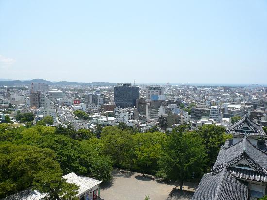Wakayama Castle: 天守閣からの眺め