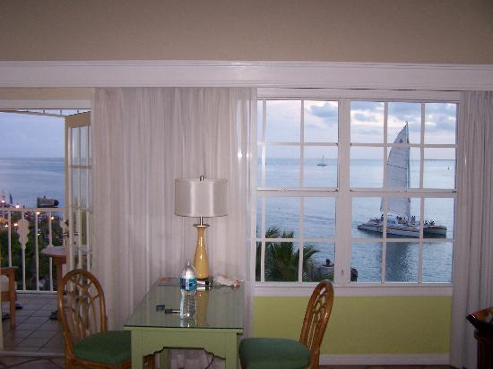 Ocean Key Resort & Spa: Looking out the window