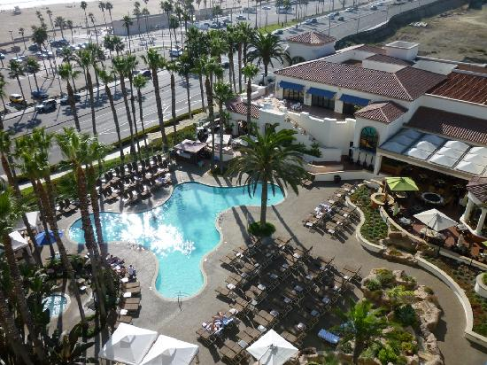 Birdseye View Of The Hotel Pool Picture Of The