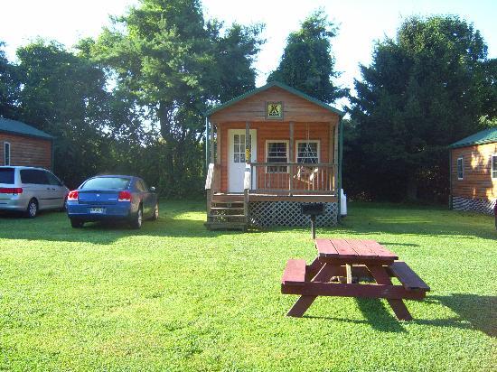 Mystic KOA: kamping lodge