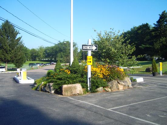 Mystic KOA: site entrance