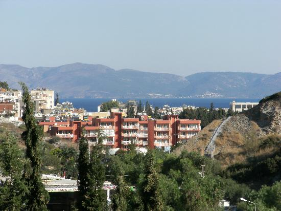 Marbel Hotel: View from my balcony