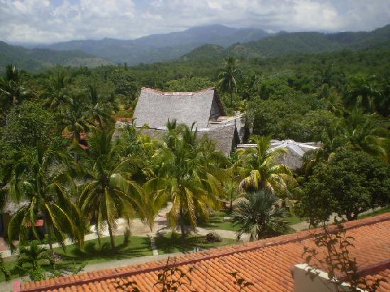 Brisas Sierra Mar Hotel: view from the upper level