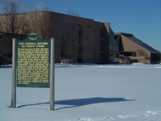 General Motors Sit Down Strike Flint Genesee County Jan