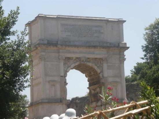 Arco di Tito: Rome - Via Sacra - Arch of Titus