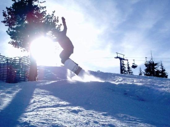 Gerlos, ออสเตรีย: Jump
