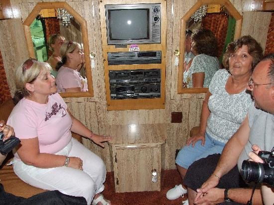 Gracepines Bed & Breakfast : On Elvis TCB Tour Bus - not yet open to public - courtesy of Jenny and Glen's friends
