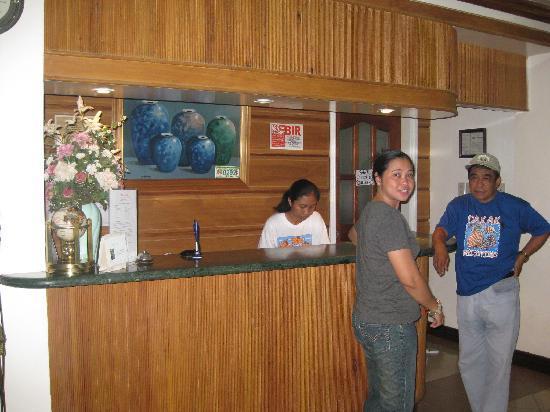 Villa Caridad Resort and Restaurant: ロビー